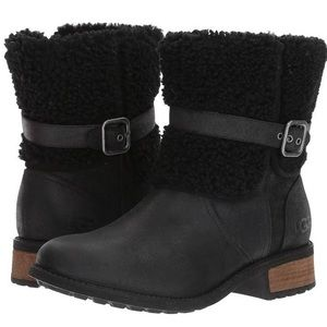 UGG blayre 2 shearling black Women's Boots